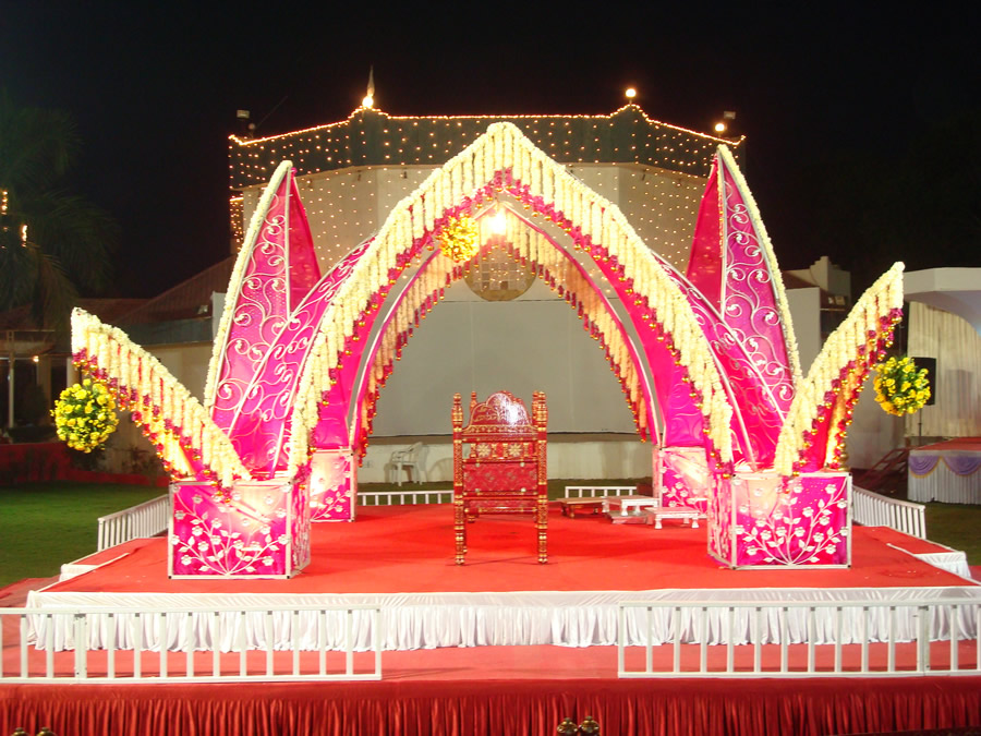 Home Decoration For Indian Wedding